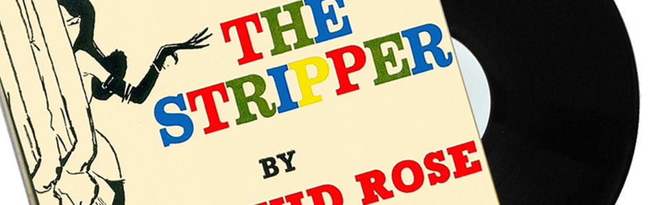 David Rose stripper vinyl record burlesque