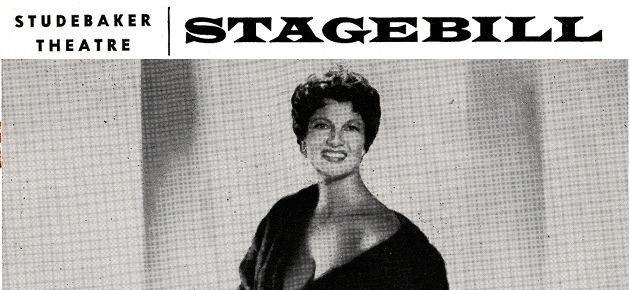 """Il programma di sala di """"This Was Burlesque"""", lo show di Ann Corio"""