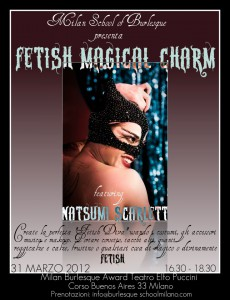 Natsumi Scarlett: Fetish Magical Charm workshop