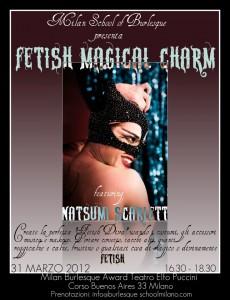 Natsumi Scarlett: Fetish Magical Charm workshop
