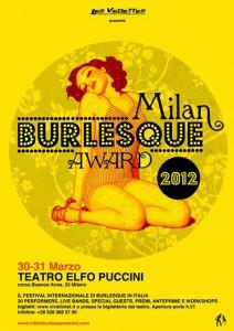Milan Burlesque Award 2012
