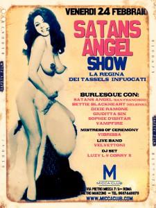 Satan's Angel al Micca Club, Roma