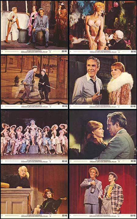 The Night They Raided Minsky's. Scene dal film.