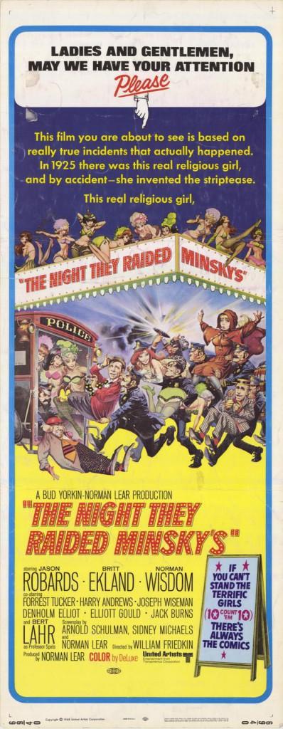 Quella notte inventarono lo spogliarello (The Night They Raided Minsky's)