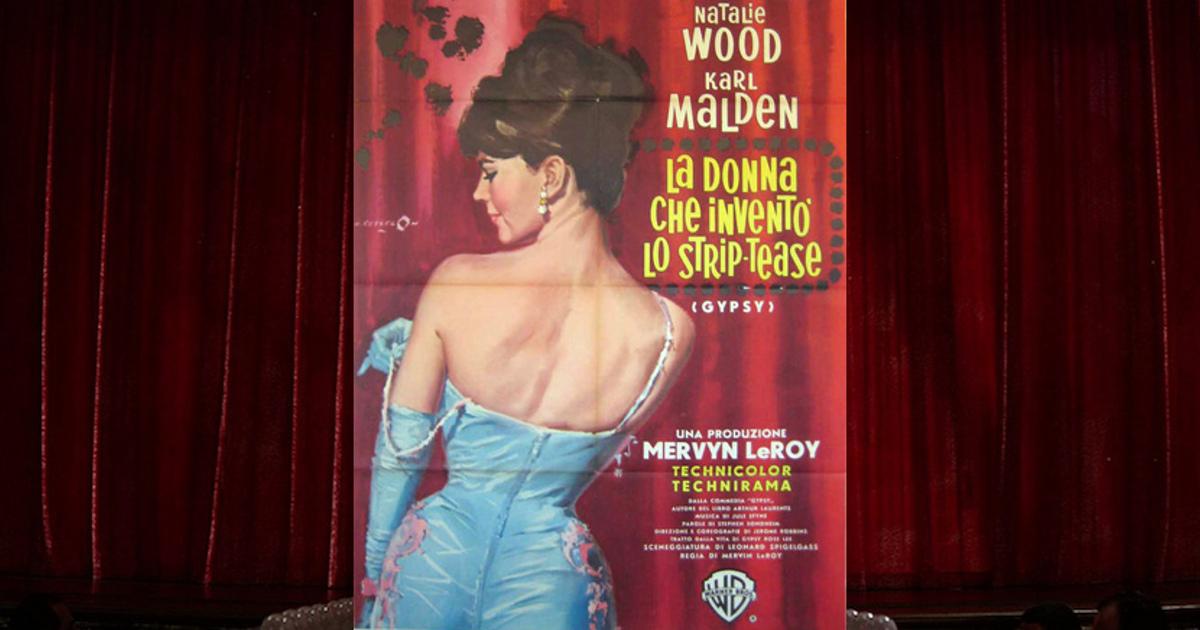 Locandina del film Gypsy con Natalie Wood