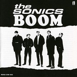 The Sonics Band record cover