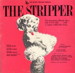 """La copertina del disco della produzione del 1982 di """"The Stripper"""""""