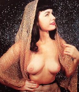 Bettie Page, sessione fotografica privata, 1953-56