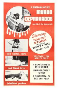 Mundo depravados (aka World of the Depraved) (1967, USA)