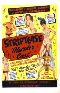 The Striptease Murder Case (1950, USA)