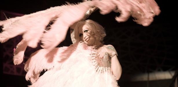 Mimi Le Meaux nel film Tournée di Mathieu Amalric