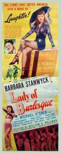 "Locandina di ""Lady of Burlesque"" (1943)"