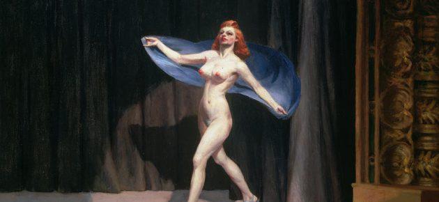 Burlesque in cornice: la stripper distante di Edward Hopper