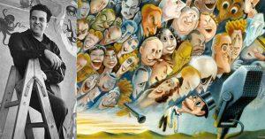 Miguel Covarrubias e le sue caricature.