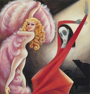 Sally Rand vs Martha Graham (Miguel Covarrubias, 1934)
