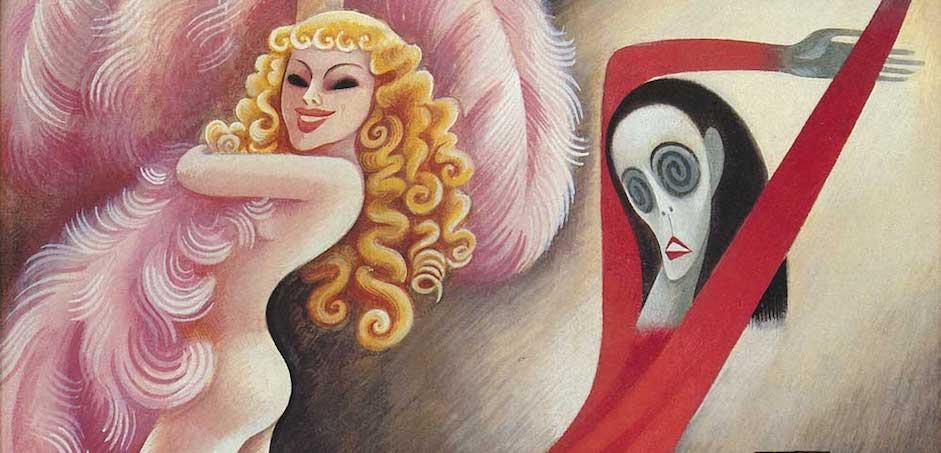 Sally Rand vs Martha Graham (Miguel Covarrubias, 1934)