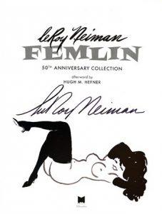 La copertina del volume celebrativo della Femlin disegnata da LeRoy Neiman