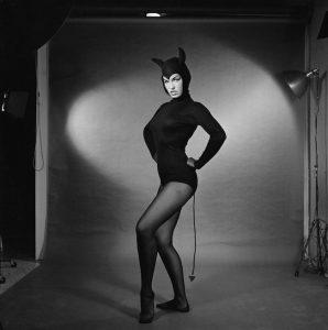 Bettie Page in un servizio di Bunny Yeager (1954)