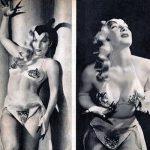 """Gene Gemay sulle pagine di una rivista con la sua """"Devil Dance"""""""