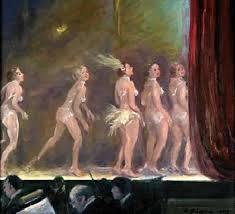 "Clyde J. Singer, ""Burlesque chorus dancers"""