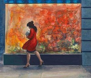 "Clyde J. Singer, ""The Red Window"""