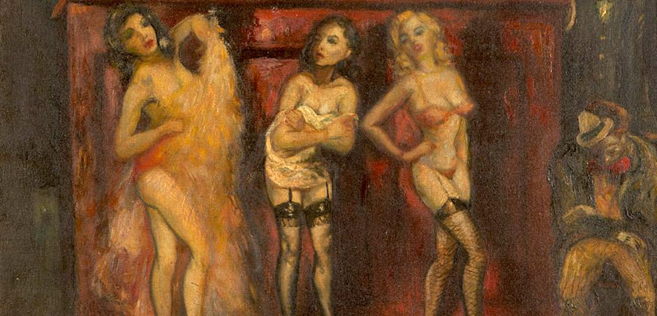 Gli anni '30 tra burlesque e speakeasy nell'arte di Jack Levitz