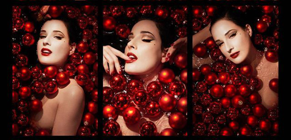 Dita von Teese Christmas