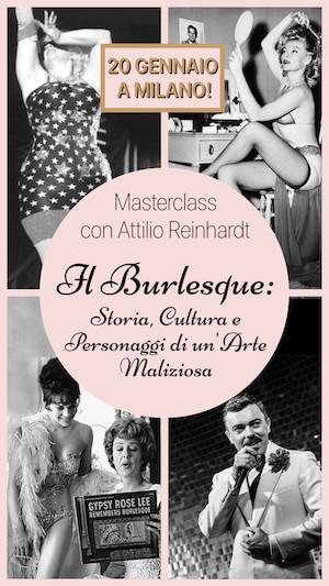 Masterclass Storia del Burlesque