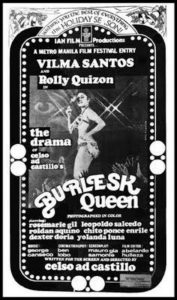 Locandina del film Burlesk Queen