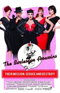 Locandina del film Burlesque Assassins