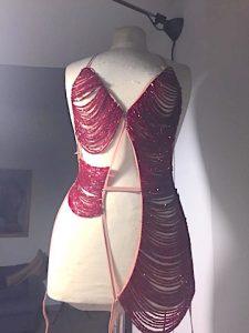 Costume burlesque Albadoro Gala