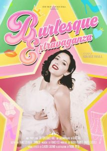 Grace Hall in Burlesque Extravaganza