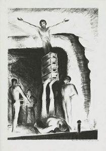 George K. Hartwell, Acrobats, litografia