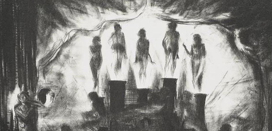 Burlesque e circo nelle litografie di George K. Hartwell