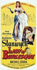 Lady of Burlesque con Barbara Stanwick