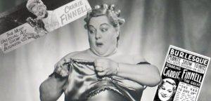 Carrie Finnel burlesque performer