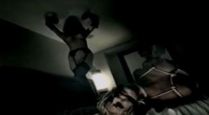 Dita von Teese nel nel video (s)AINT di Marilyn Manson