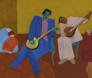 "Milton Avery, ""Music Makers"""