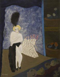 """Milton Avery, """"Burlesque Show"""""""
