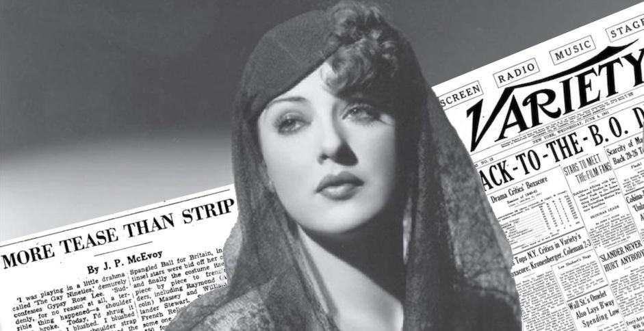 Più tease che strip: Gypsy Rose Lee tra burlesque e Hollywood