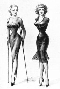 L'acrotomofilia nei disegni di John Willie