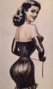 Illustrazione di John Willie