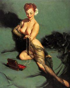 Pin-up e gioielli di Gil Elvgren