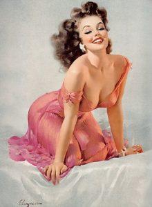 """Gil Elvgren, """"Mimi"""", 1956"""