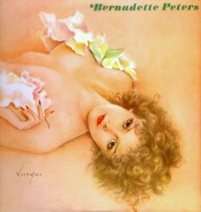 La copertina di Alberto Vargas per l'album di Bernadette Peters del 1980.