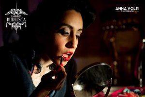 Ella Bottom Rouge (ph Anna Volpi, courtesy of La Rivista Burlesca by Silk Ribbon Cabaret Team)