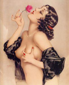 "L'attrice Olive Thomas vista da Alberto Vargas (""Memories of Olive"", 1920)"