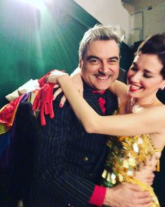 Vera Dragone con Alessandro Casella