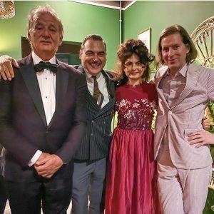 Bill Murray, Alessandro Casella, Juman Malouf, Wes Anderson