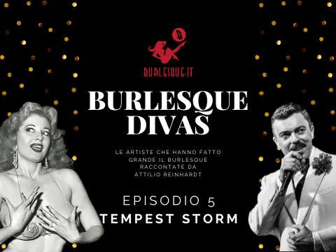 Burlesque Divas: Tempest Storm